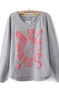 ZLZ Clock Sweater