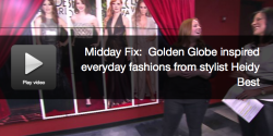 Golden Globe inspired Fashions